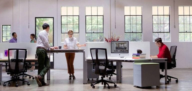 Modern Office Workstations | Benching Workstations